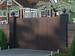 Распашные ворота DoorHan на проем 4300мм х 2100мм