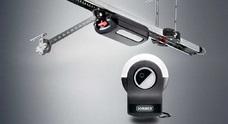 Комплект с высокоинтенсивным потолочным приводом SOMMER S 9080 Pro+ для секционных ворот