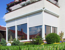 Рольставни (роллеты) на окна 900мм х 1500мм