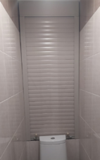 Рольставни в туалет (сантехнические) 800мм х 1300мм